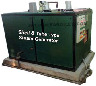 Shell and Tube Type Steam Generator